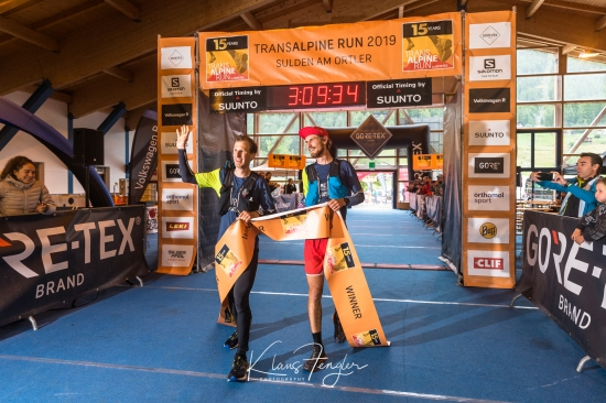 Finishing the 2019 Transalpine Run
