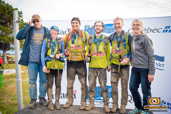 All smiles on the Raid International Gaspesie finish line