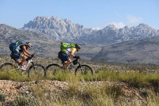 Cycling at Adventure Race Croatia
