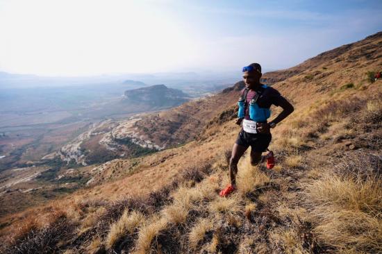 Thabang Madiba in action