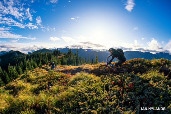 Riding stage one at Trans-Cascadia 2019