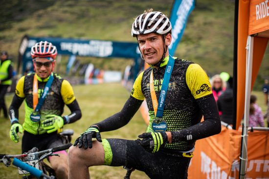Winners Michael Vink and Tim Rush (Onya Bike North Otago)