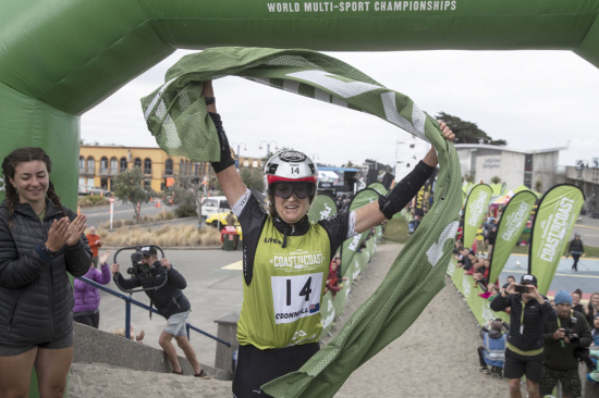 Corrine O'Donnell On The C2C Finish Line