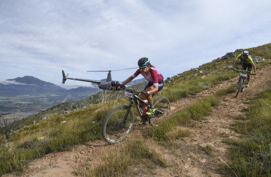 The Witzenberg Valley, the playground for Stage 2, is encircled by rugged mountains making it the perfect staging ground for a mountain bike race. Photo by ZC Marketing Consulting