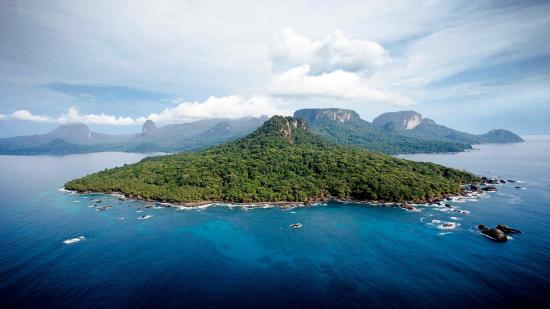 The islands of Sao Tomé & Principé