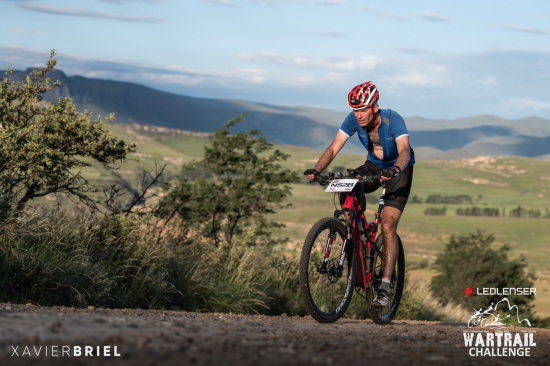 Fast times on the bikes at the Ledlenser Wartrail