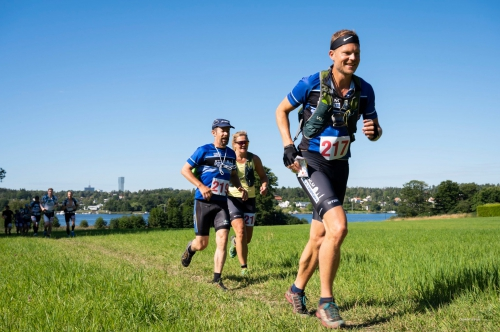 Trail running at the PARS Turbo 2020 race in Sweden