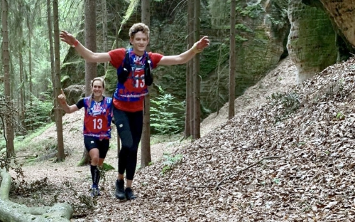 On the first orienteering stage