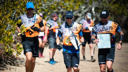 At the Rogue Raid Adventure Race in Queensland