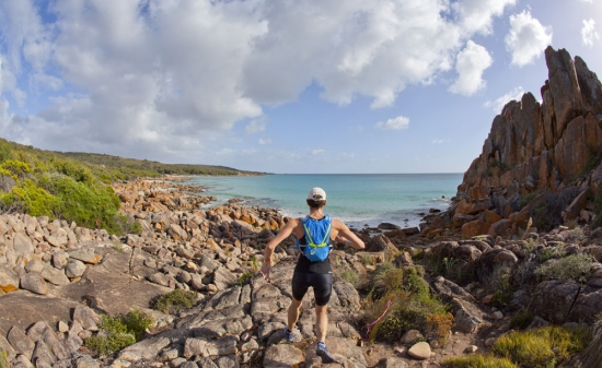 Coast trail running is part of the Eagle Bay Epic Adventure Race