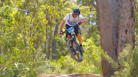 Mountain biking at the new Eagle Bay Epic Adventure Race