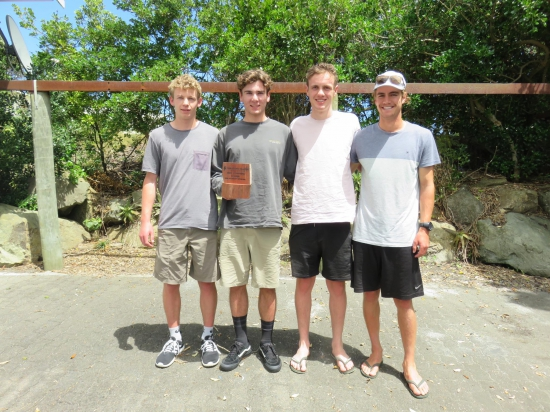 24 hour non packraft winners - Team Trout Squad
