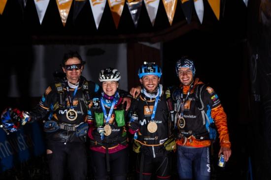 Race winners Team Movistar Terra Aventura