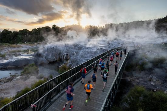 Running the Tarawera Ultramarathon