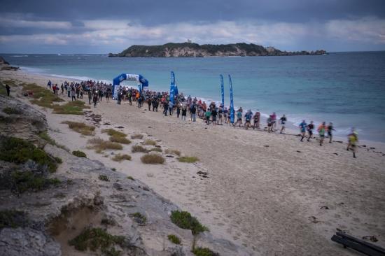 The start of the 2021 Margaret River Ultra Marathon