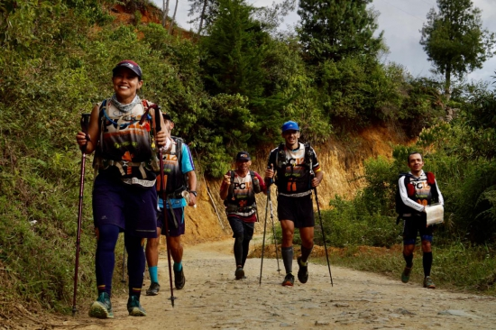 Trekking in Colombia in the PC12 Adventure Race