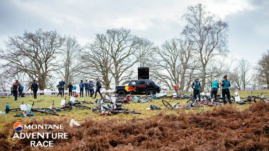 The start of the Montane Adventure Race