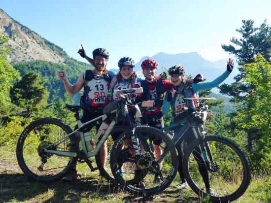 Dutch Direction enjoying the riding at Sud Raid
