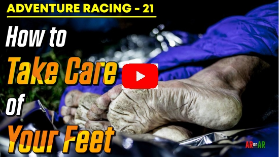 AR on AR no 21. How to Take Care of Your Feet
